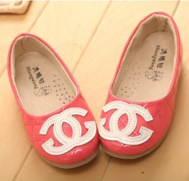 Retail 2015 New Girls Fashion flat shoes autumn Children PU Leather Casual Shoes princess kids Sandals 3 colors size 21-36 - The only baby flagship store