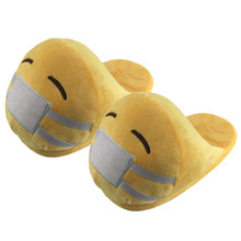 Emoji Slippers Funny Slippers Indoor Shoes House Slippers Women Emoji Shoes Warm Winter Slippers Home