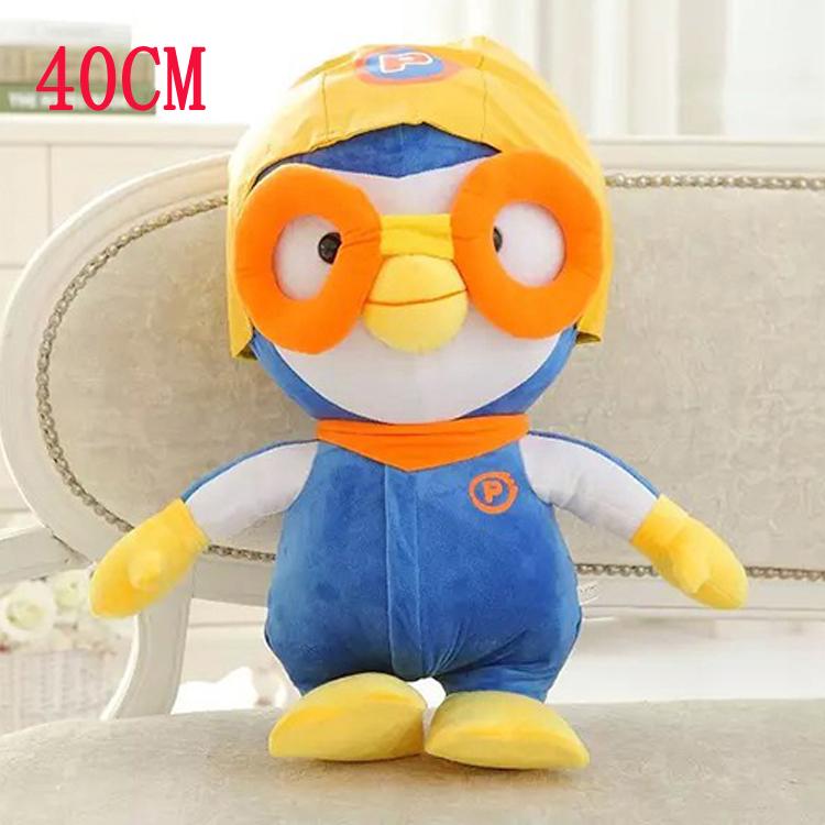 40cm Kawaii Hot Korea Pororo Stuffed Anime Plush Toys Penguin Pororo Classic Toys Brand Toy Penguin Dolls for Kid Gifts(China (Mainland))