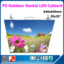 Buy TEEHO Outdoor p5 led display panel hight brightness 25 25 inches full color rental led display cabinet 640x640mm panel screen for $845.00 in AliExpress store