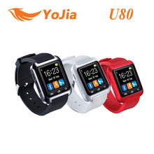 100% Original U80 U8 Bluetooth Smart Watch Sport for iPhone Samsung S4/Note/s6 HTC LG Android Phone Smartwatch Altitude Function