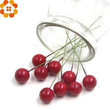 !10Christams Plastic Artificial Red Berry Wedding Decorations Christams Home Party Decoration Supplies - DIY House Factory Direct Online Store store