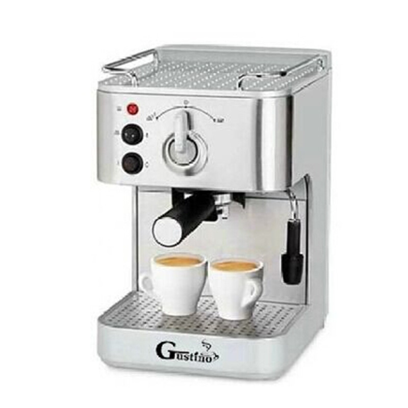 Automatic Coffee Maker Made In Italy : Gustino 19Bar Semi Automatic Coffee Maker Espresso Machine with Froth Milk Stainless Steel 304 ...