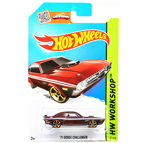 Free Shipping 1:64 Hot Wheels 71 DODGE CHALLENGER Alloy Collectible Model Toy Car For kids C4982(China (Mainland))
