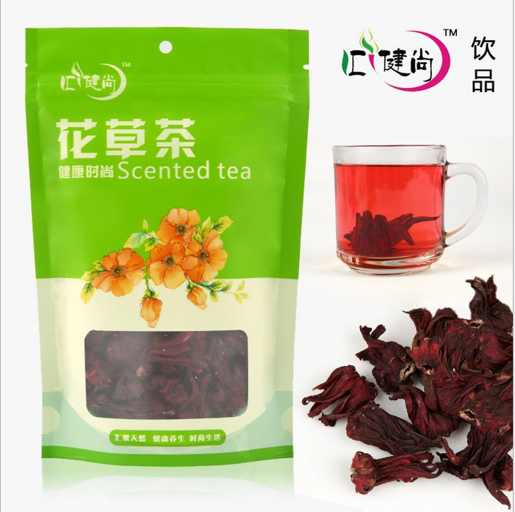 Promotion health care Roselle tea hibiscus tea natural flower scented tea fit detox tea free shipping