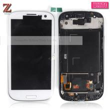 I9300 Lcd Free Shipping+Tracking No. S3 Lcd For Samsung Galaxy S3 I9300 I9305 Lcd Screen Display With Touch Digitizer With Frame