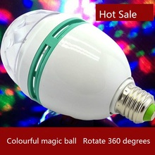 Buy 5pcs/lot Mini 1.5W RGB LED Bulb Stage Lighting 85V-265V Magic Ball Constant Current DJ Disco Bar KTV Lighting Auto Rotating for $28.90 in AliExpress store