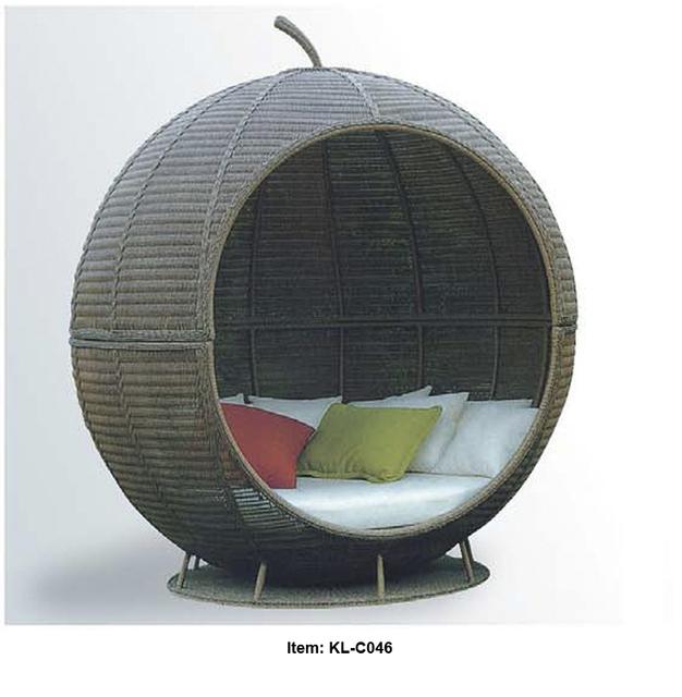 kl c046 free shipping good service outdoor sofa bed. Black Bedroom Furniture Sets. Home Design Ideas