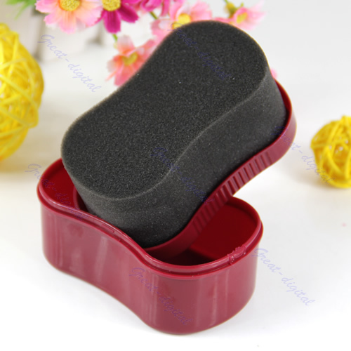 """M112""""3pcs/lot RED Shoe Quick Shine Cleaning Brush For Leather Shoes Bags Garments SofaFree Shipping wholesale/retail(China (Mainland))"""