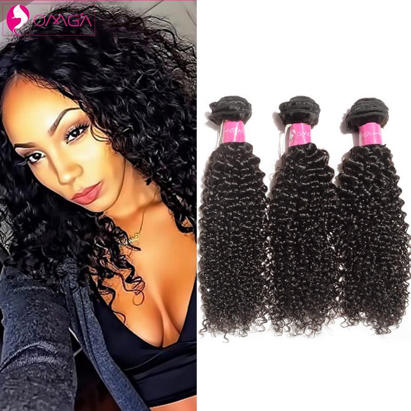 OMG Indian Virgin Hair Kinky Curly Weaves Human Hair Extensions Kinky Curly Virgin Hair Indian Curly Virgin Hair Weaves 7a<br><br>Aliexpress