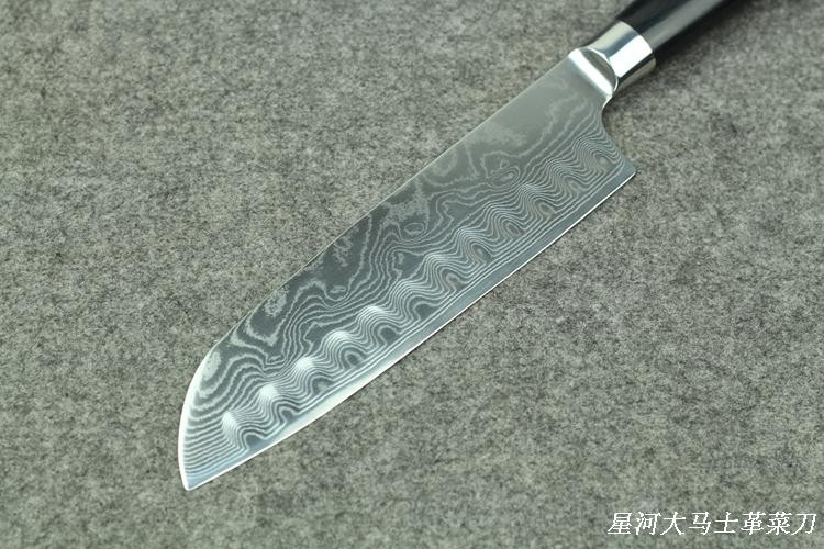 Buy cooking tools,knife kitchen,damascus knives,chef knife,kitchen tools,7-inch You can cut fish, steak, sushi, cheap