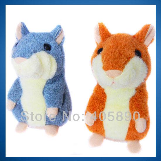 3pcs/lot Russian Talking Hamster Kids Interactive Plush Stuffed Toys(China (Mainland))