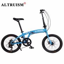 Buy Altruism K1 Folding Bike Kid's Bicycle 7 Speed 20 inch Aluminum bicicleta mountain bikes Double Disc Brake Road Bicycles for $299.98 in AliExpress store