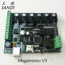 Free shipping 3D printer accessories motherboard Megatronics V3 version Integrated plate
