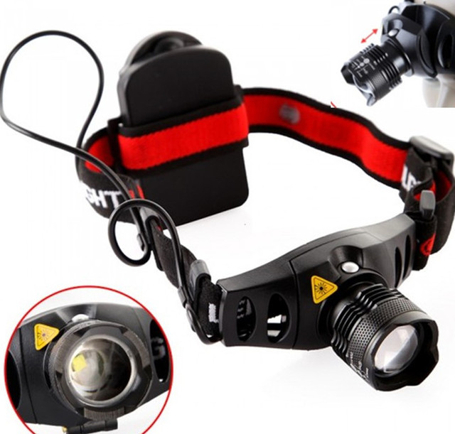 CREE Q5 1200 Lumen LED Head Lamp
