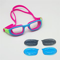 Children Swim Goggles 3LS Kit Sea Swimming Blue Ray Filtered Lens Grey Transparent Lens for Day