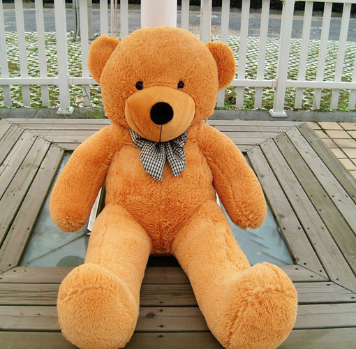 brown teddy bear plush toy 100cm giant teddy bear Rilakkuma bear stuffed doll/lovers/valentine day/birthday/new year gift<br><br>Aliexpress