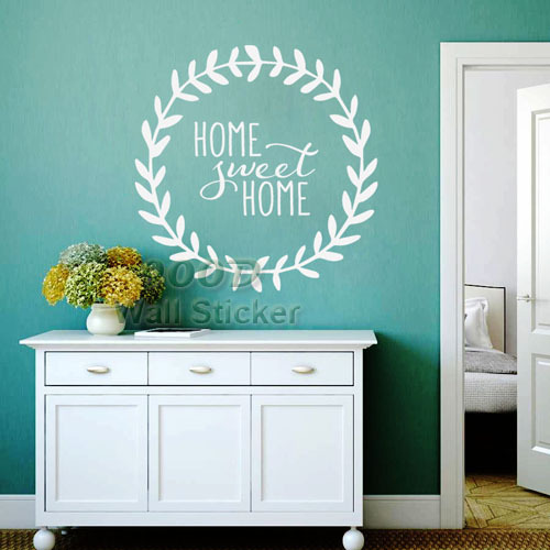 Sweet Home Quote Wall Stickers DIY home decoration