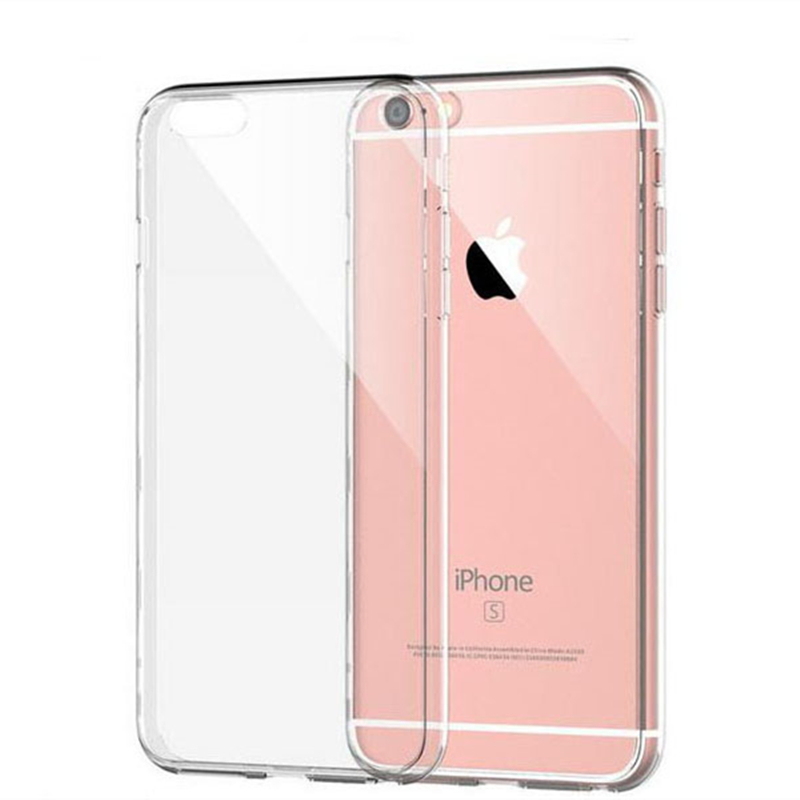For iphone 6 6S Case Luxury rubber ultra Slim soft Silicone Tpu Plastic case with dust plug cover(China (Mainland))