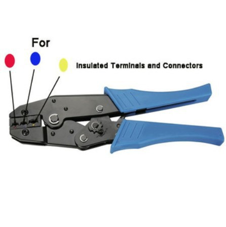 Ratchet Crimping Tool / Pliers Crimps Insulated Terminals 0.5-6 sq mm(China (Mainland))