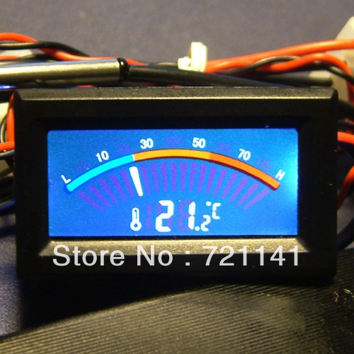 M89 Free Shipping Digital Thermometer Temperature Meter Gauge C/F PC MOD(China (Mainland))