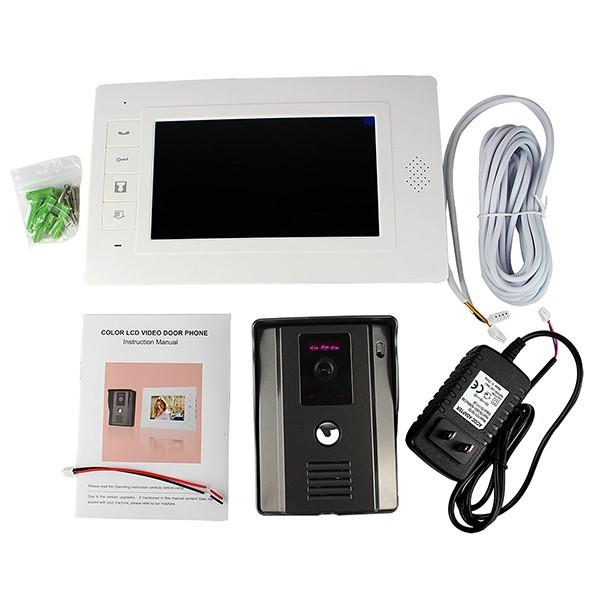 Цветной видеодомофон для квартиры и частного дома. Низкая цена, высокое качество! Бесплатная доставка!