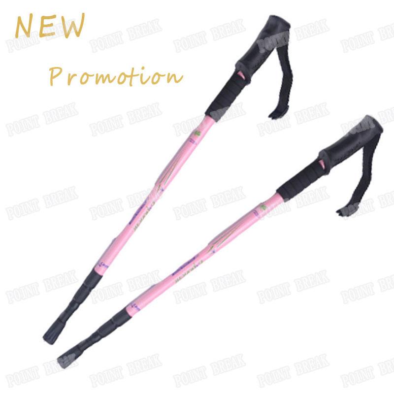 POINT BREAK ABD8016 Professional Outdoor Trekking Pole Adjustable Telescopic Hiking Walking Stick Trekking Pole Alpenstock(China (Mainland))