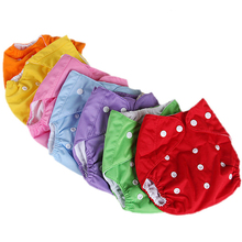 Breathable Reusable Baby Infant Nappy Cloth Washable Diapers Covers Size Adjustable Fraldas Winter Summer Version - LOL International Trade store
