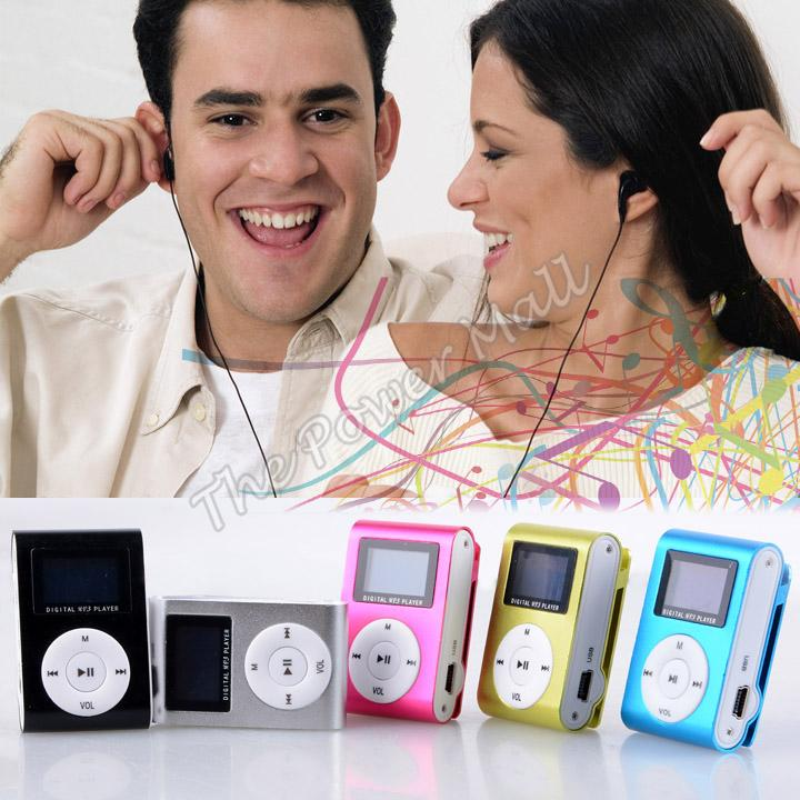 Top Sale! 2014 New Arrival 5 Colors Mini Clip Mp3 Player Portable Digital Sport Music Player With Screen b4 SV004789(China (Mainland))