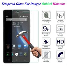 Tempered Glass Screen Protector For Doogee X5 Max X6 X3 X9 Oukitel K4000 K6000 Homtom HT3 HT6 HT7 HT16 HT17 Pro HT20 Cover Film