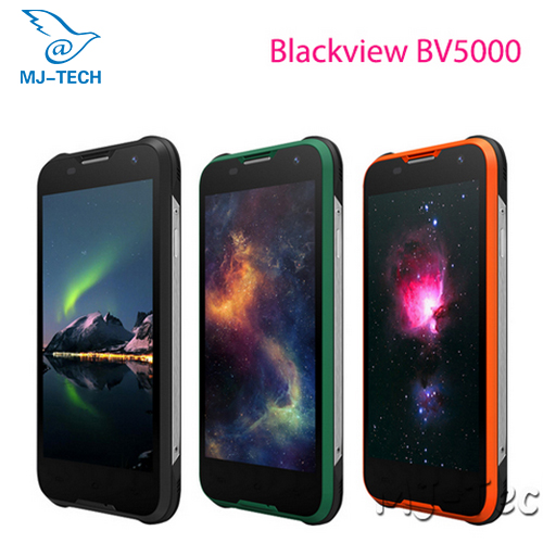 Blackview BV5000 Waterproof 4G FDD LTE MTK6735 Quad core 5 inch HD Screen Android 5.1 OS 2G 16G Smart phone(China (Mainland))