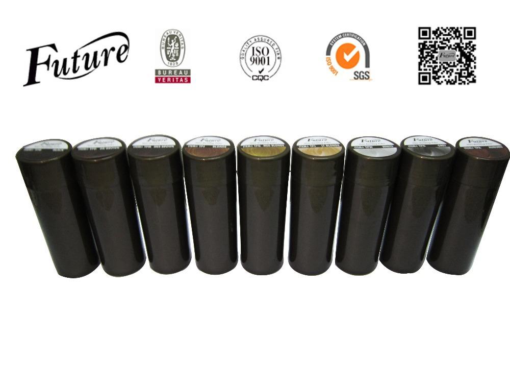 10colors Restore Fully Hair Fiber Building Keratin Hair Powder Spray Thickeners Refill 25g No Brand Bottle(China (Mainland))