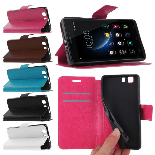 Для Doogee X5 флип кожаный бумажник чехол крышка подставка