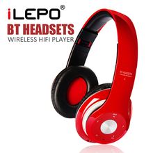 iLEPO D15 Wireless Bluetooth 3.0 + EDRHeadphones Headset Mobile Phone PC Telephone Headband with Micphone for iphone Samsung