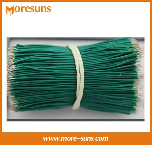Free Shipping~500pcs/Lot Black,Red,Green,Blue,Yellow 50MM double Side Tin Plated Electrical Wires,electrical cable, wires<br><br>Aliexpress