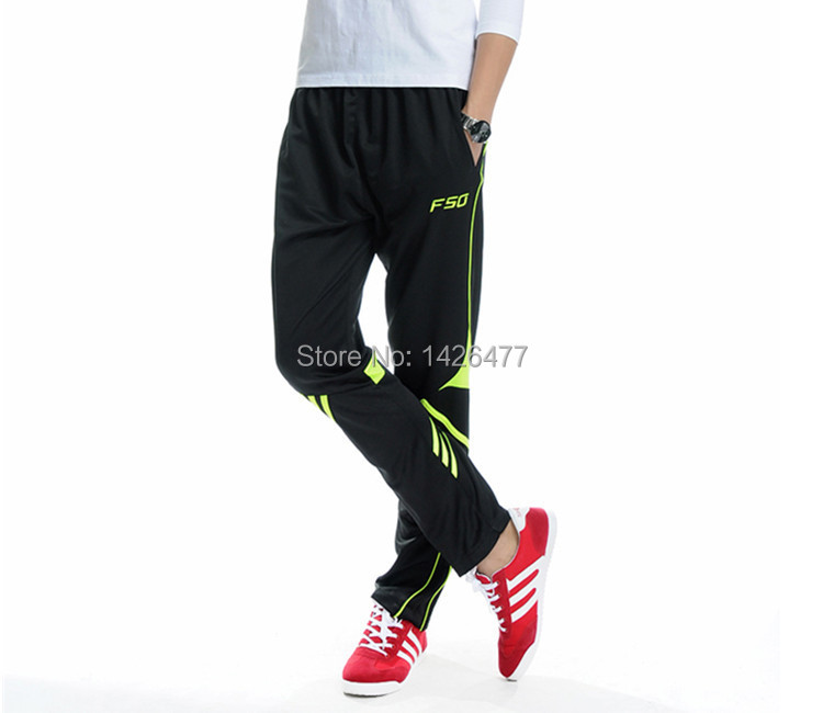 Men soccer pants harem pantalones deporte football training pants high quality sport sweatpants skinny joggers stripes(China (Mainland))