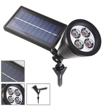 LED Solar Powered Spot Lights for Outdoors