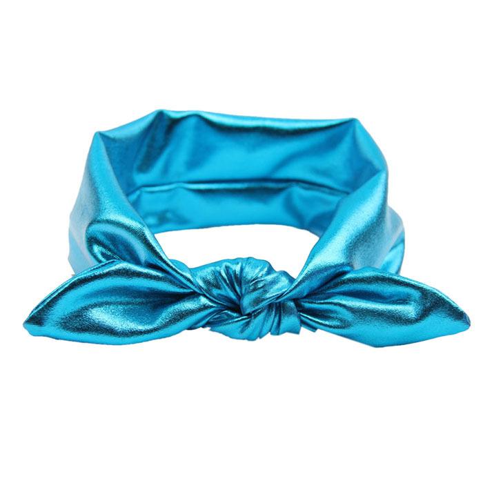 New Fashion Rabbit Design Children headwear Elasticity Wash Gold Baby Girl Headband Hair BandAccessory free shipping(China (Mainland))