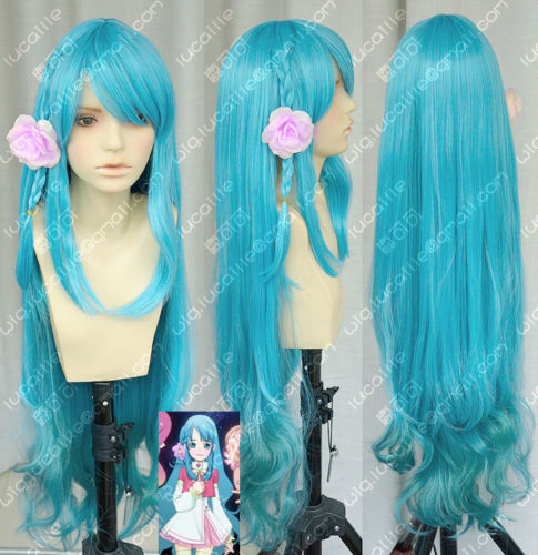 Hot heat resistant Kanekalon Party hair FREE SHIPPING&gt;&gt; Sono Chieri Blue to Green Gradient Lolita Cosplay Party Wigs<br><br>Aliexpress