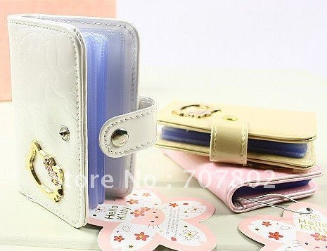 Promotions!!Hot Sale High fashion hello kitty bag/wallet/purse/Embossed card bag<br><br>Aliexpress