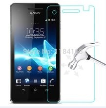 0.26mm Explosion-proof Tempered Glass Film for Sony Xperia V / LT25i Front LCD Screen Protector pelicula de vidro guard