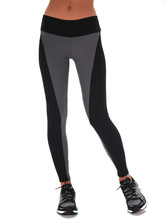 Women Sports Foldover Bootleg Flare Pants Elastic Wicking Force Exercise Tights Female Elastic Running Trousers Leggings