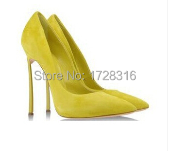 drop shipping package box! Italy brand design real genuine leather unique thin high heels women wedding/t-stage pumps shoes - Super VIP shoe store