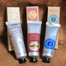 Famous Brand Shea Butter+Peony + rose hand cream with 6 pieces pack suit mini hand lotions free shipping 30ml(China (Mainland))