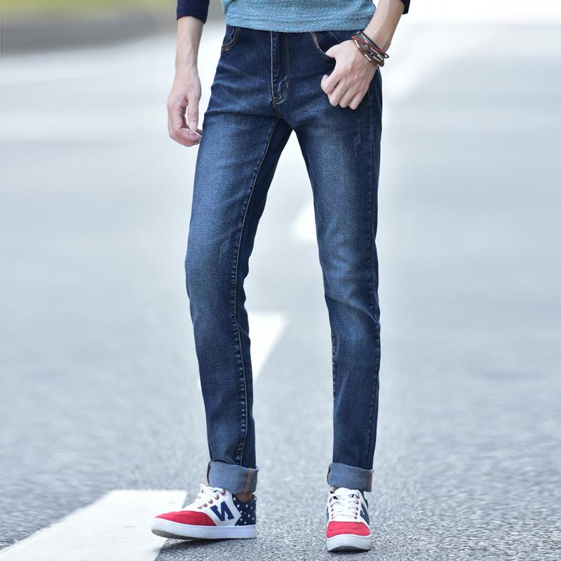 New Arrival 100% Cotton men jeans Casual slim biker men Jeans Free Shipping denim skinny jeans for boys denim pants(China (Mainland))