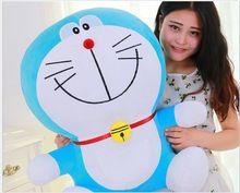 huge lovely plush new smile doraemon toy stuffed big blue doraemon doll gift about 70cm
