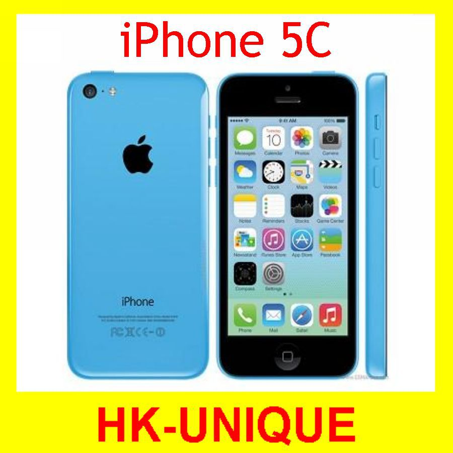 Original Iphone 5c Dual Core Ios 7 1g Ram 32g Rom 40 Inch 8mp 8gb Apple 16gb 32gb 4 0