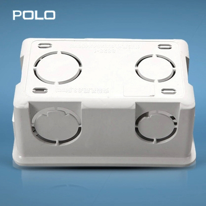 Mounting Box, Cassette,  Wiring Box, White Back Box for 118mm*72mm<br><br>Aliexpress