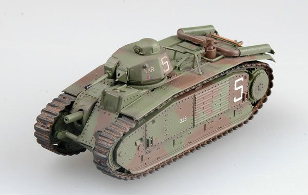 1/ EASY MODEL 1/72 36158 French Bi bis tank s/n 323 VAR, of 2nd company, June 1940
