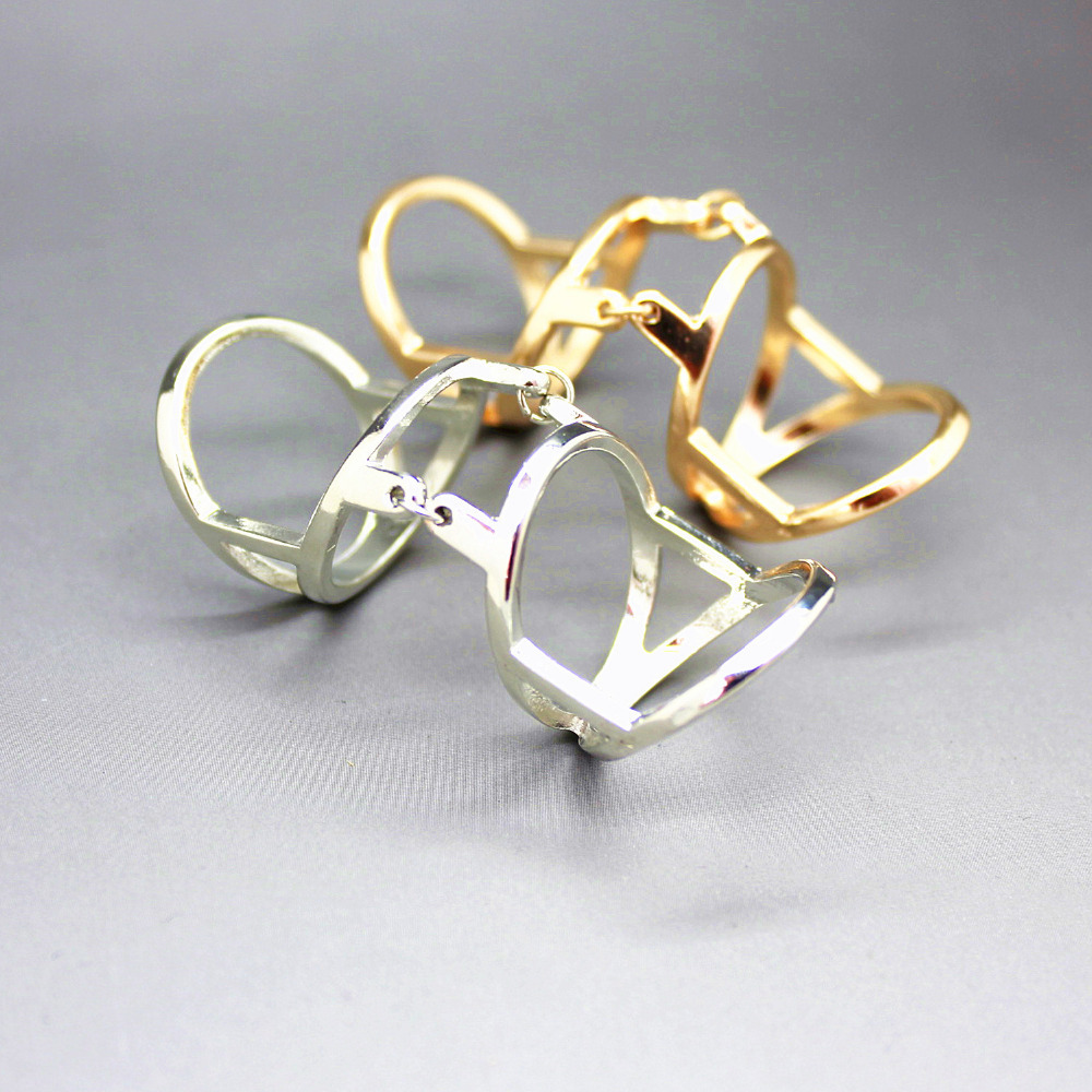 The new official website synchronization conjoined rings Color classification: Platinum Blonde(China (Mainland))